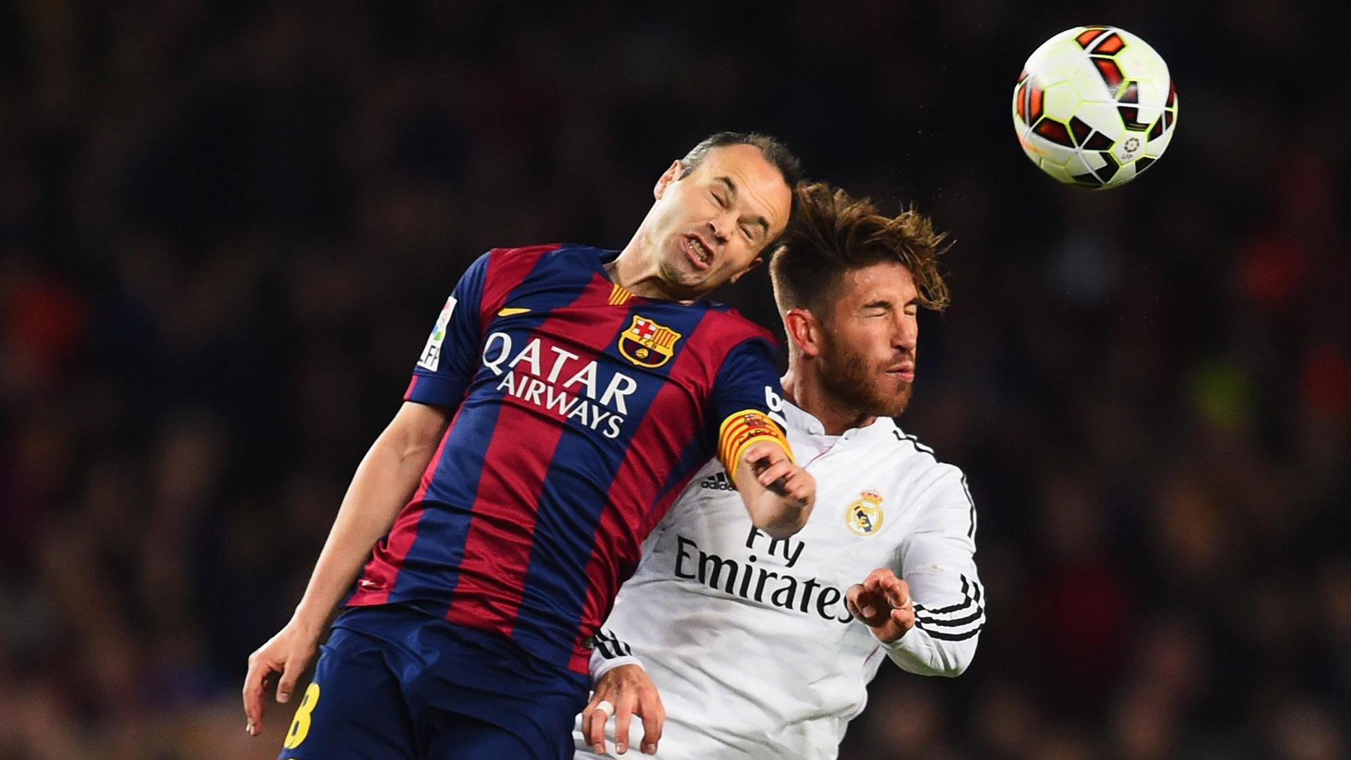 Kapten Real Madrid Ikut Berbicara Soal El Clasico Terakhir Iniesta