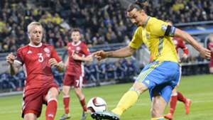 Zlatan Ibrahimovic Sweden Denmark EC Qualification 14112015