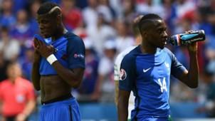 Paul Pogba Blaise Matuidi Frankreich EM 2016 06262016