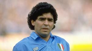 Diego Maradona SSC Neapel 21101990