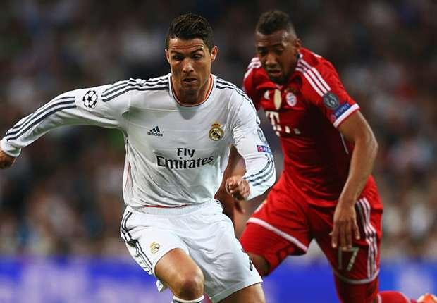 Cristiano Ronaldo Real Madrid Bayern Munich Champions League