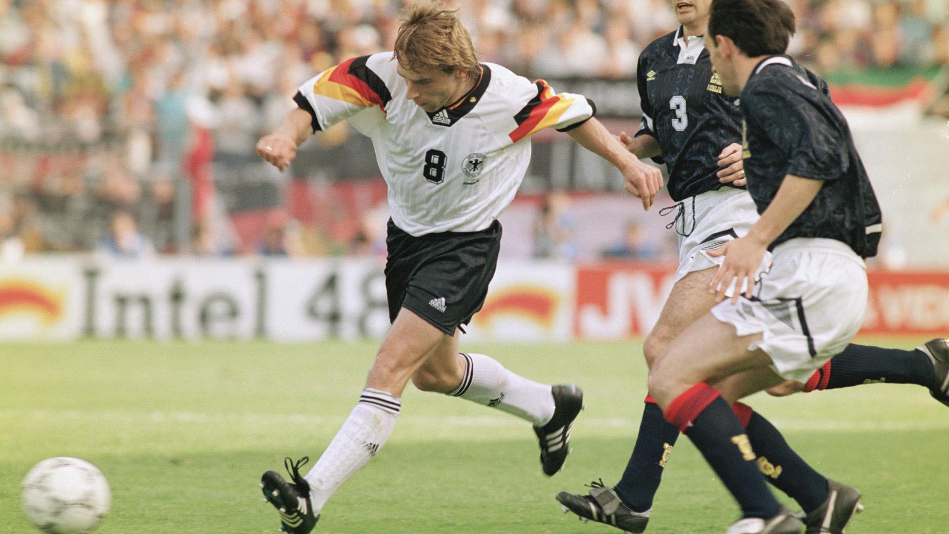 Thomas Häßler Germany Scotland EURO 1992 15061992