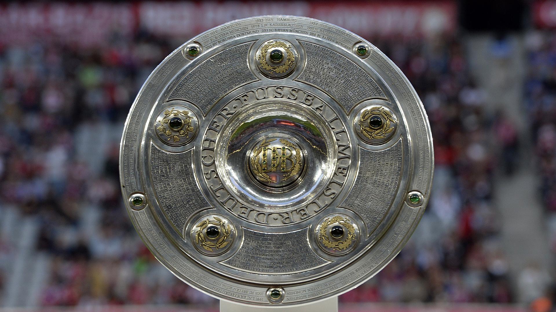 Bundesliga Championship trophy 08222014