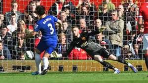 David de Gea Manchester United v Everton - Premier League 10052014