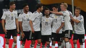 Germany Deutschland DFB San Marino celebrating 10062017