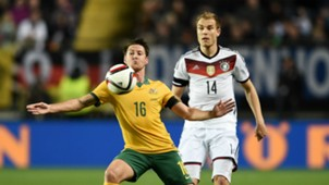 Holger Badstuber Nathan Burns Germany v Australia - International Friendly 03252015
