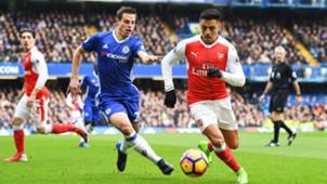 Alexis Sanchez Arsenal Chelsea Premier League 04022017