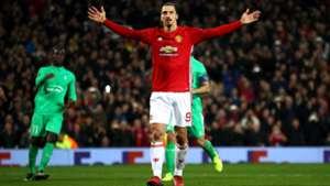 Zlatan Ibrahimovic Manchester United 16022017