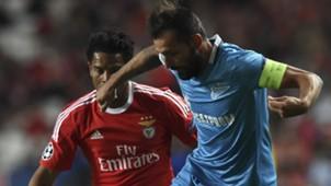 Eliseu Danny SL Benfica Lissabon Zenit St Sankt Petersburg UEFA Champions League 16022016