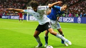 Sami Khedira Leonardo Bonucci Germany Italy European Championship 28062012