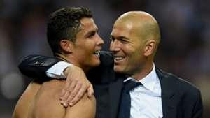 Cristiano Ronaldo, Zinedine Zidane 05282016