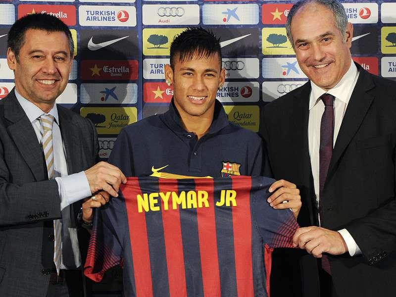 Bartomeu: Queremos que Neymar se aposente no Barcelona