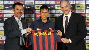 Bartomeu Neymar Zubizaretta Barcelona 06032013