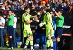 Iker Casillas David de Gea El Salvador Spain International Friendly 06072014