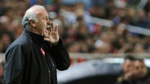 Vicente del Bosque Spain Ukraine EC Qualifier 03272015