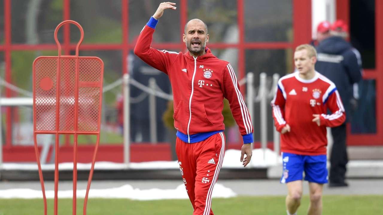 ONLY GERMANY Pep Guardiola FC Bayern Munchen