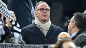 Karl-Heinz Rummenigge Bayern München Champions League agains Juventus 23022016