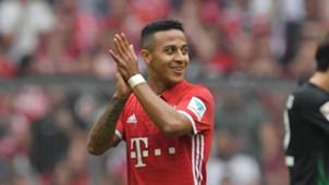 *GER ONLY* Thiago Alcantara FC Bayern München FC Augsburg 042017