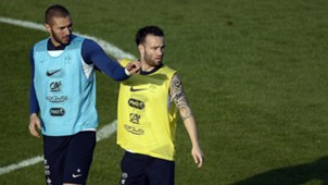 Karim Benzema Mathieu Valbuena Frankreich 06112015