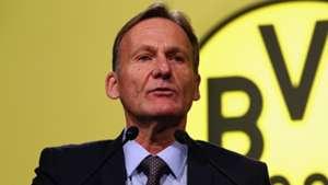 Hans-Joachim Watzke Borussia Dortmund 11242014