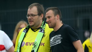 Kevin Großkreutz Fans Borussia Dortmund 12062016