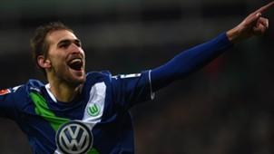 Bas Dost VfL Wolfsburg 03012015