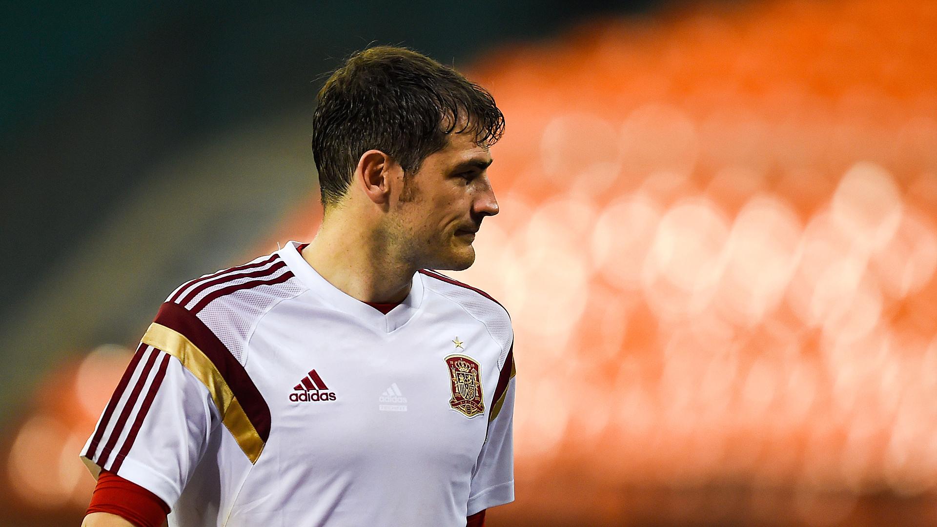 Iker Casillas Spain Training 06042014