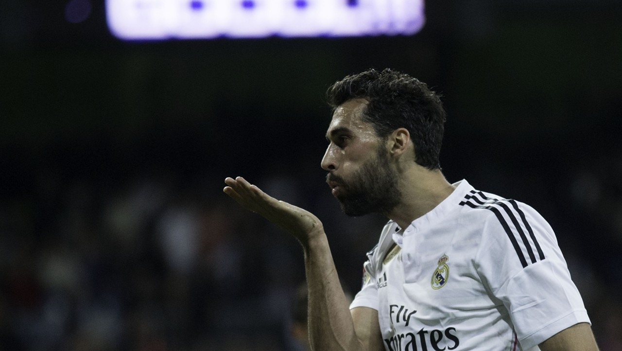 Alvaro Arbeloa Real Madrid Almeira La Liga 04292015