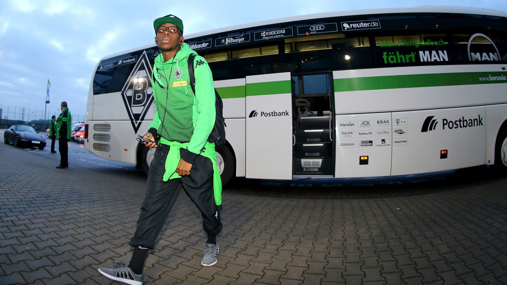 Ibrahima Traore Borussia Mönchengladbach Borussia Dortmund - Bundesliga 01.23.2016