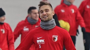 GER ONLY Moritz Leitner FC Augsburg 2017