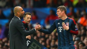 Pep Guardiola Toni Kroos FC Bayern 04012014