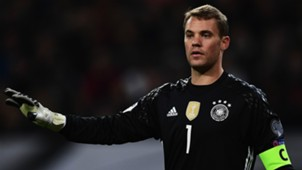 MANUEL NEUER GERMANY CZECH REPUBLIC WC QUALIFICATION 08102016