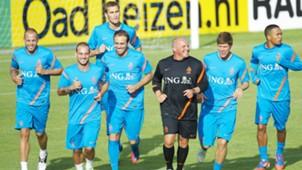 ONLY GERMANY Bas Dost Klaas Jan Huntaaar Wesley Sneijder John Heitinga Urby Emanuelson Mathijsen Netherlands