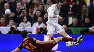GARETH BALE AS ROMA REAL MADRID UEFA CHAMPIONS LEAGUE 08032016