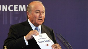 Sepp Blatter South Africa World Cup 2010