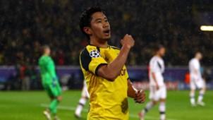 Shinji Kagawa Borussia Dortmund Champions League