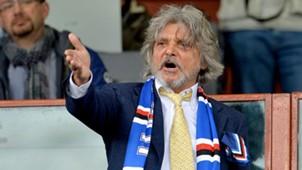 Massimo Ferrero Sampdoria Genua 04182015