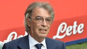 Massimo Moratti Inter Milan Genoa Serie A 08252013