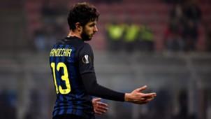 Andrea Ranocchia Inter Mailand 08122016