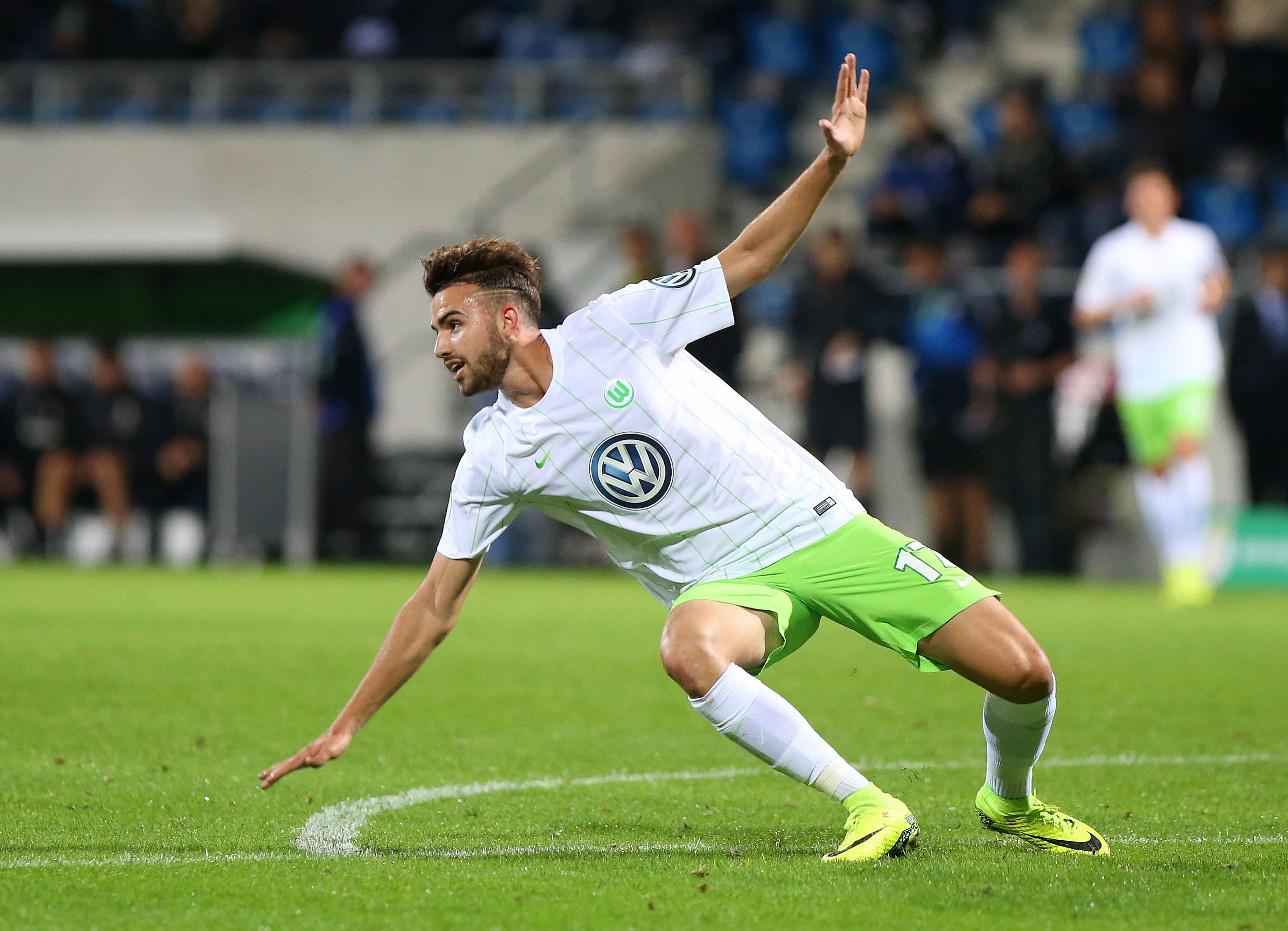 Borja Mayoral VfL Wolfsburg 082016