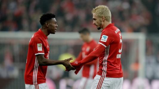 David Alaba Mats Hummels Bayern München Bundesliga 21122016