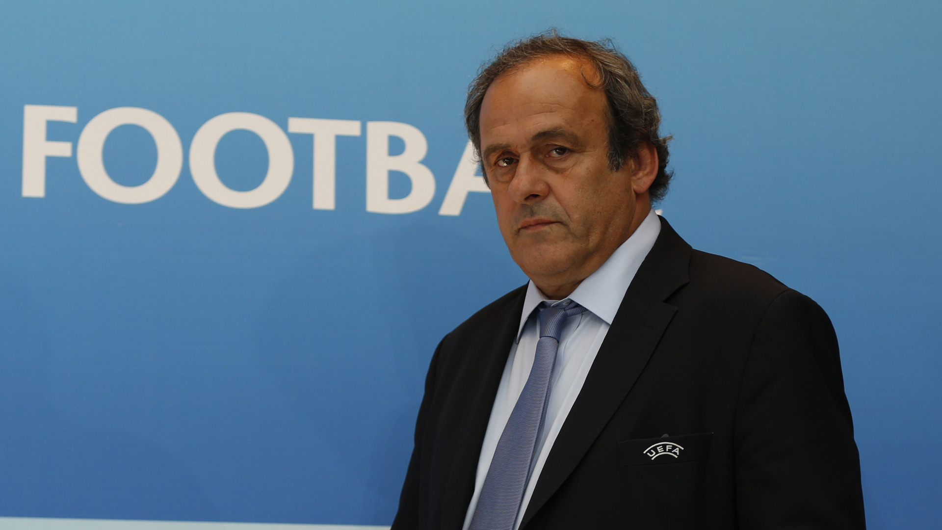 Michel Platini UEFA 28082015