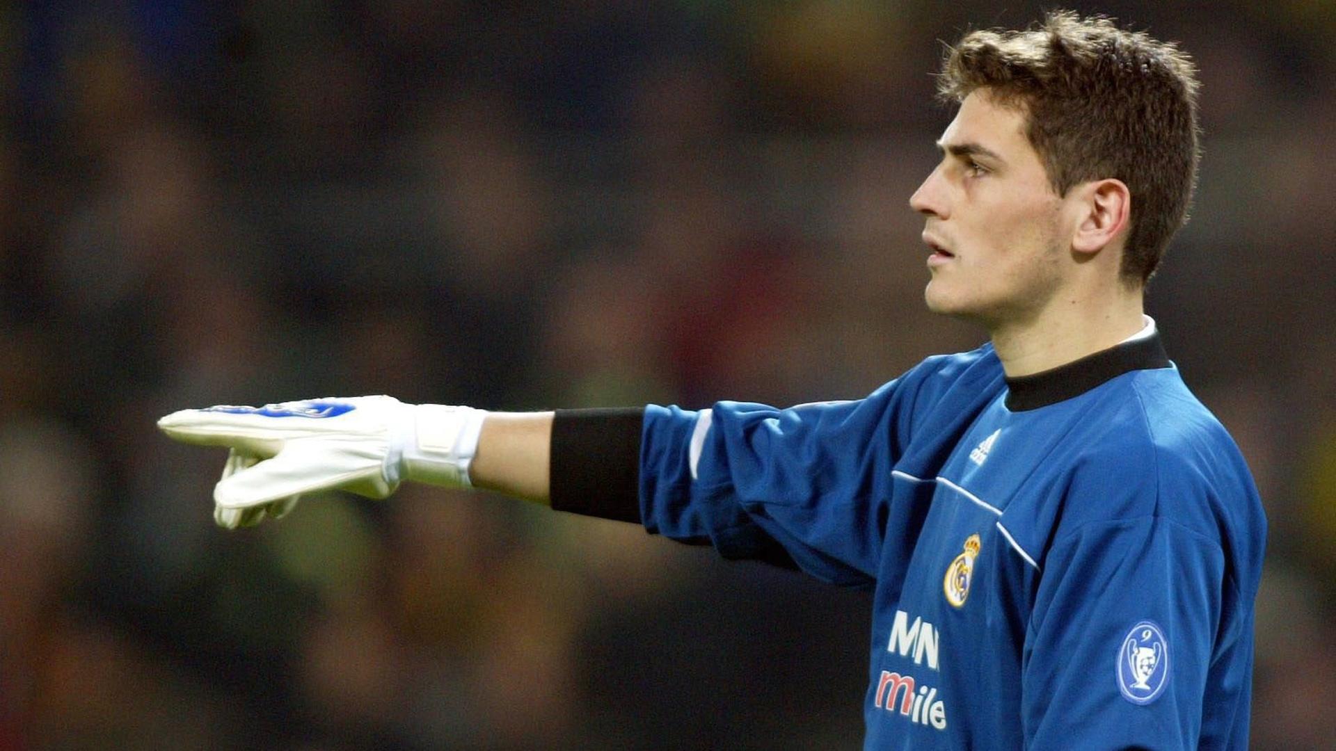 Casillas Real Madrid 2003