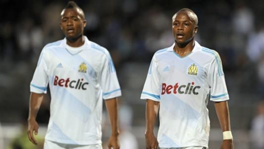 Jordan Ayew Andre Ayew Olympique Marseille
