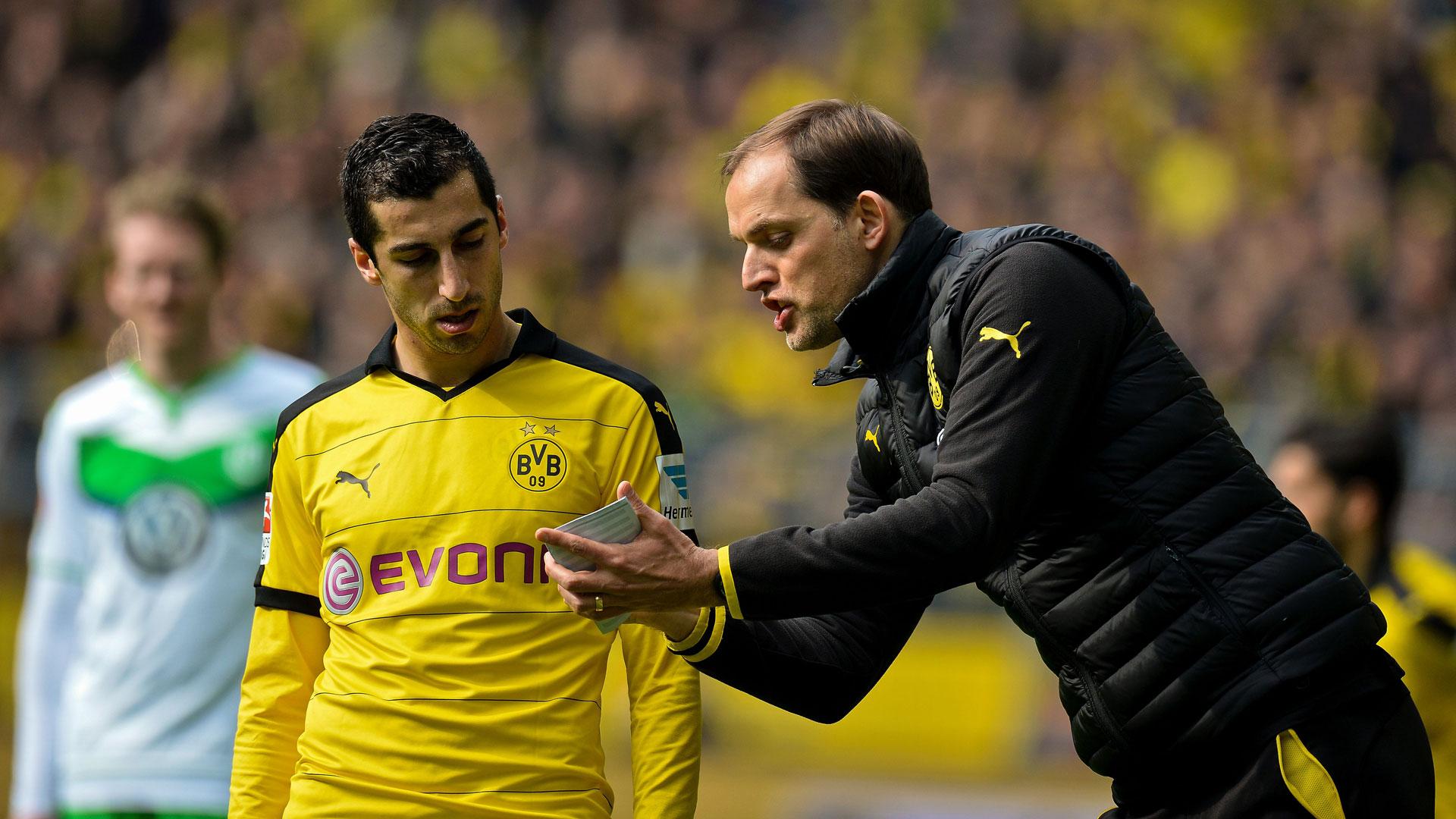 Henrikh Mkhitaryan Borussia Dortmund Thomas Tuchel 30042016