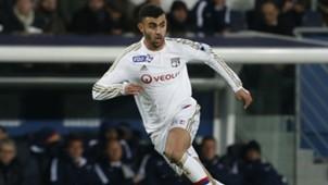 Rachid Ghezzal Olympique Lyon 13012016