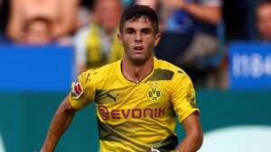 Christian Pulisic Borussia Dortmund 25072017