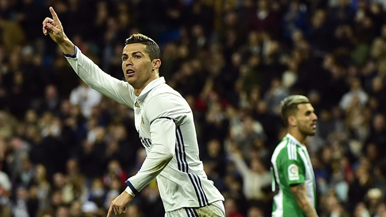 Cristiano Ronaldo Real Madrid 12032017