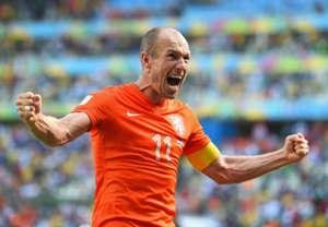 Arjen Robben Netherlands Mexico 2014 World Cup Round of 16