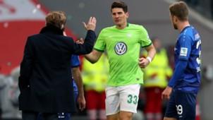 Mario Gomez Andries Jonker VfL Wolfsburg Darmstadt 98 Bundesliga 18032017